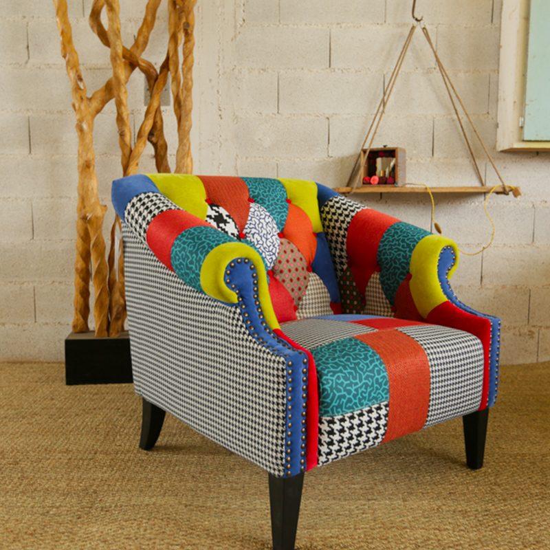 fauteuil-rainbow-patchwork-tissu-drimmer
