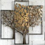 Tableau arbre en metal