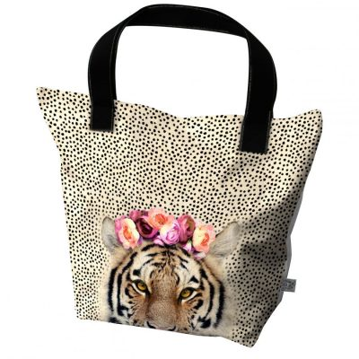 grand tote bag motif girage