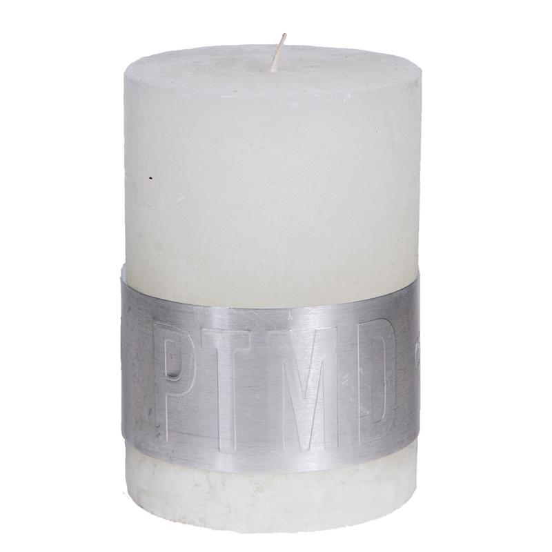 petite bougie blanche cercl e d cor lie de l 39 art la d co. Black Bedroom Furniture Sets. Home Design Ideas