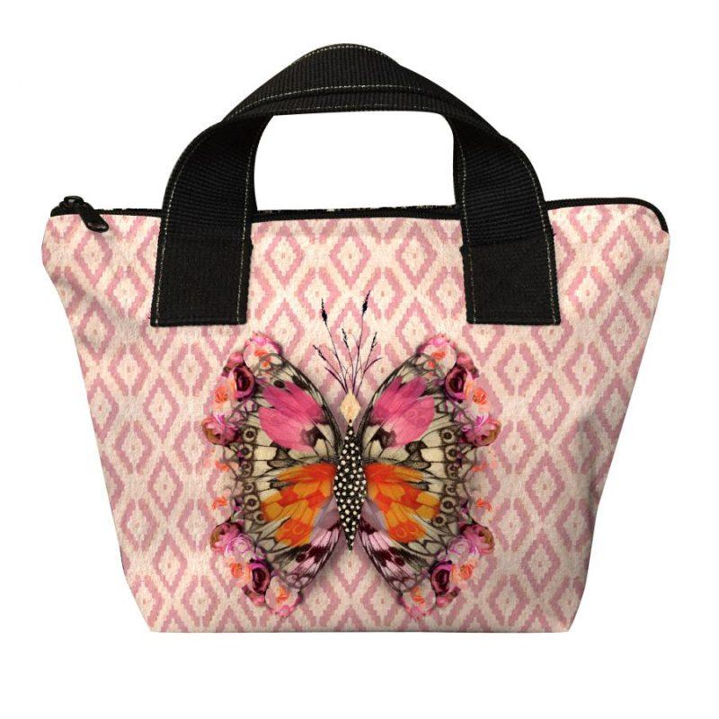 mini sac à main avec papillons de la marque laissez lucie faire