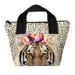 mini sac à main motif tigre hippanema de la marque laissez lucie faire.