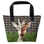 sac à main motif girafe de la marque laissez lucie faire