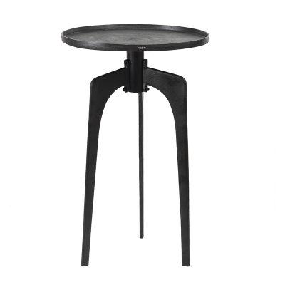 petite table haute en métal style industriel