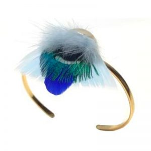 bracelet-manchette-plume-paon-chamane-ana-gold