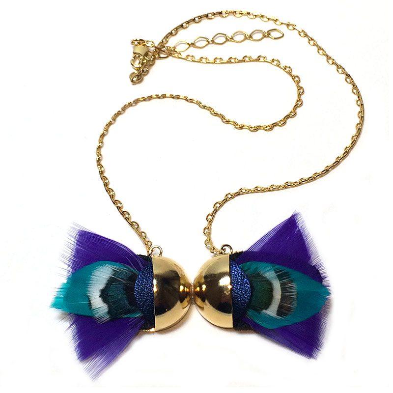 sautoir-cuir-et-plume-violette-creatrice-ana-gold