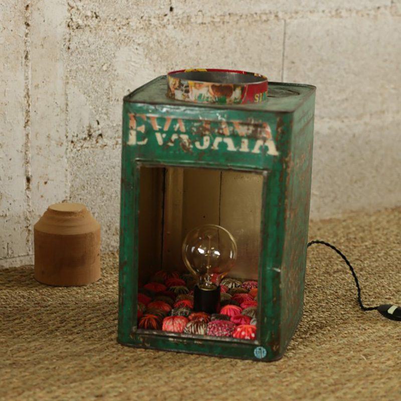 Lanterne Vintage en métal du créateur Piti