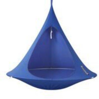 Tente suspendue Cacoon bleu roi