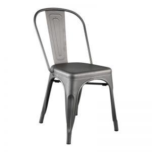 Chaise en métal aux allures industrielles !