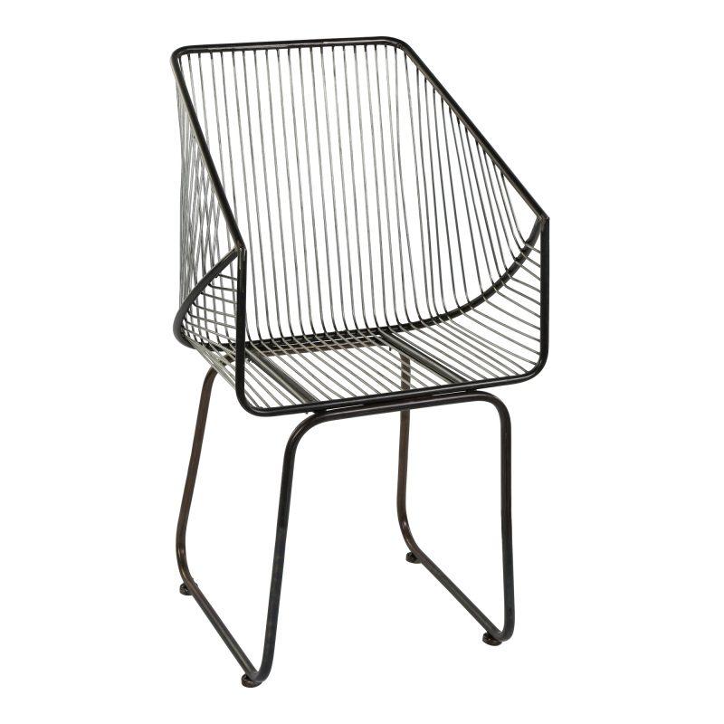 Chaise metal design style loft