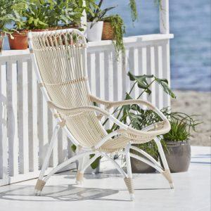 Chaise en Rotin Monet de qualité supérieure pour l'exterieur