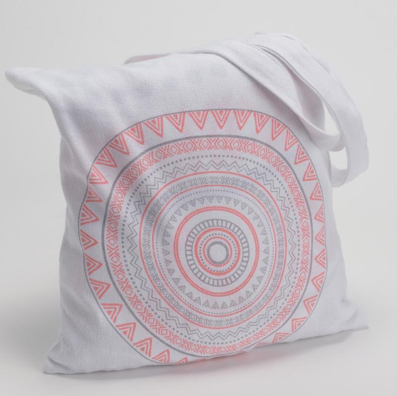 serviette de plage de forme ronde sac decorelie de l. Black Bedroom Furniture Sets. Home Design Ideas