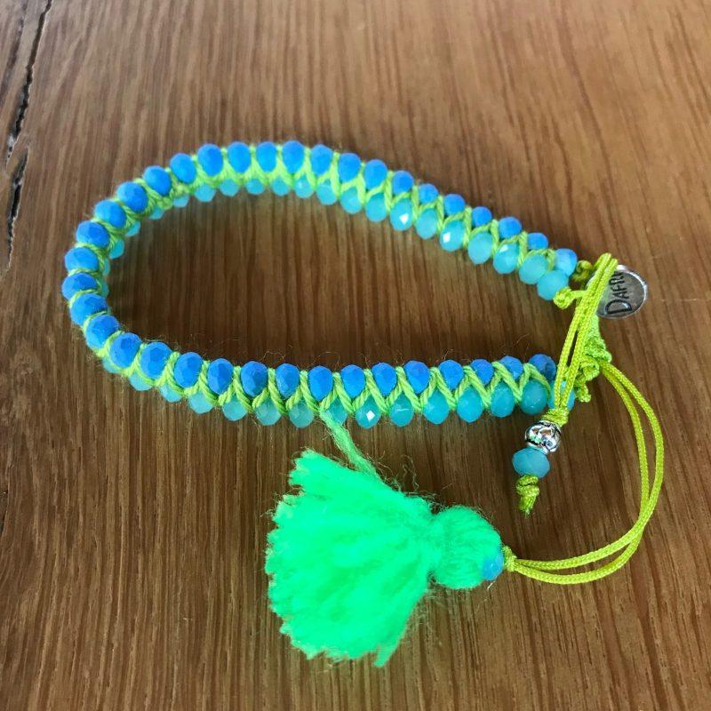 Bracelet en perle de la créatrice Nadia Dafri.