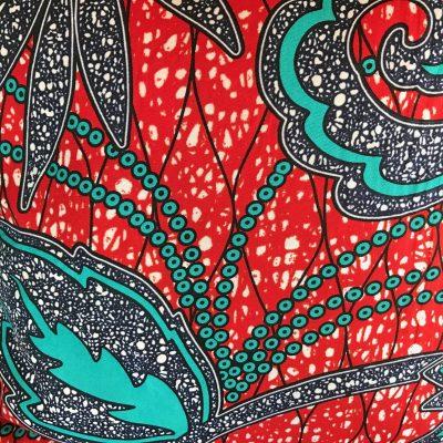 Coussin Wax de la créatrice Nadia Dafri