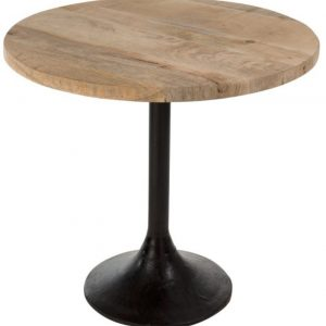 Table haute de bar bois et métal