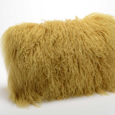 Coussin tout doux en laine d'agneau