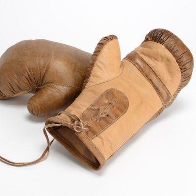 Gant de boxe en cuir