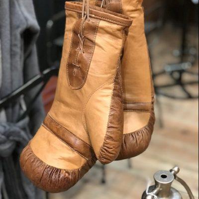 Gant de boxe en cuir de buffle ultra résistant