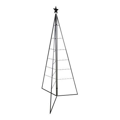 Sapin décoratif en métal avec étoile