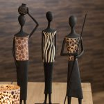 Statuette Africaine en résine