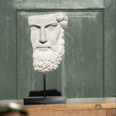Statue Tête de Zeus