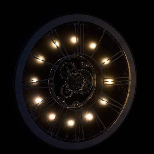 Horloge ronde LED