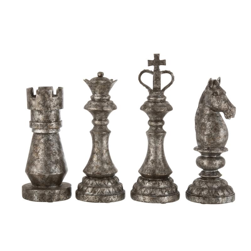 Pièce de jeu d'échec décorative